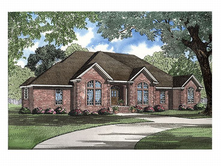 1-Story House Plan, 025H-0075