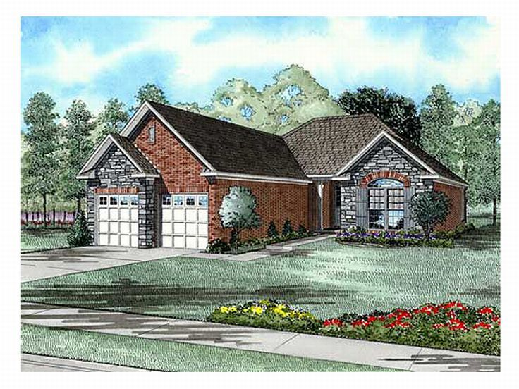 Small Home Plan, 025H-0050