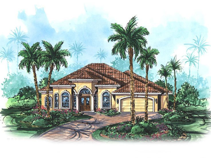 Ranch House Plan, 037H-0006