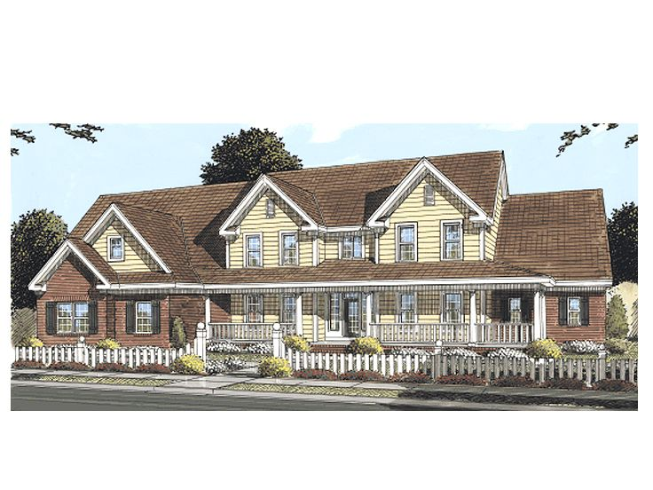 Luxury Country Home, 059H-0092