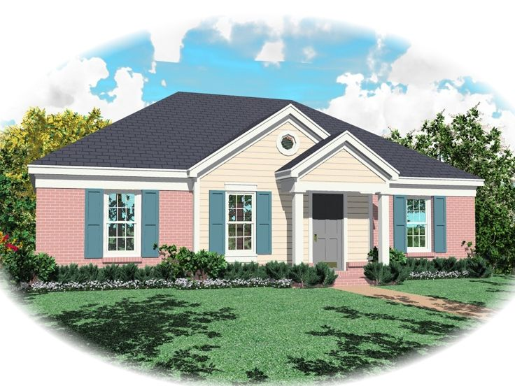 Ranch House Plan, 006H-0154