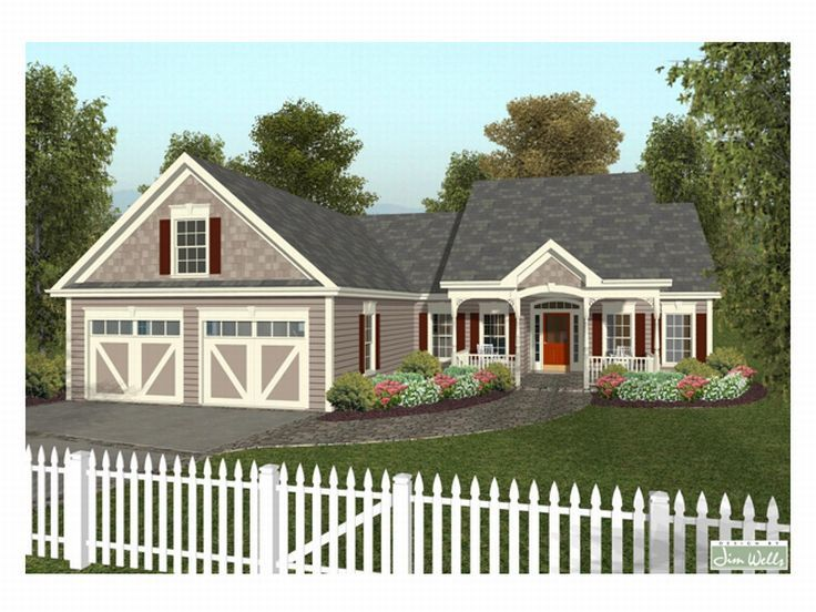 Country House Plan, 007H-0017