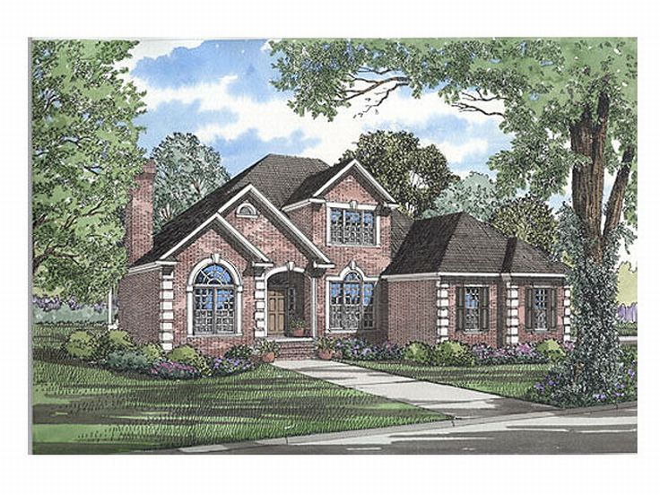 Two-Story Home Design, 025H-0069