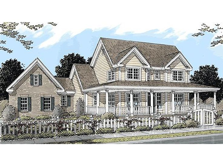 Country Home Design, 059H-0013