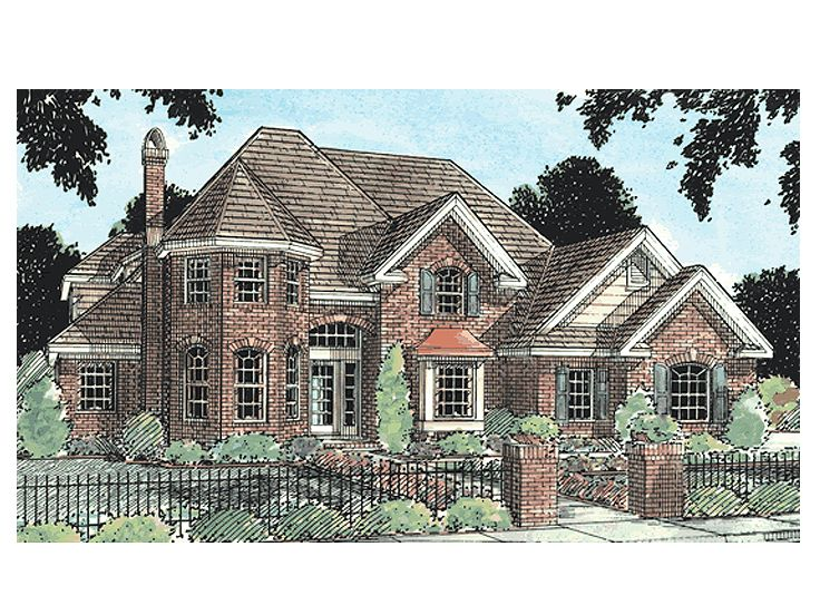 Luxury Home Plan, 059H-0032