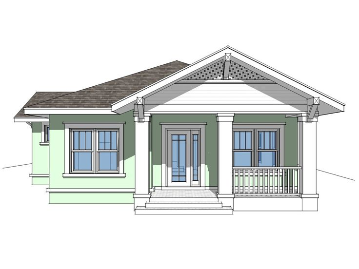 Small House Plan, 052H-0024