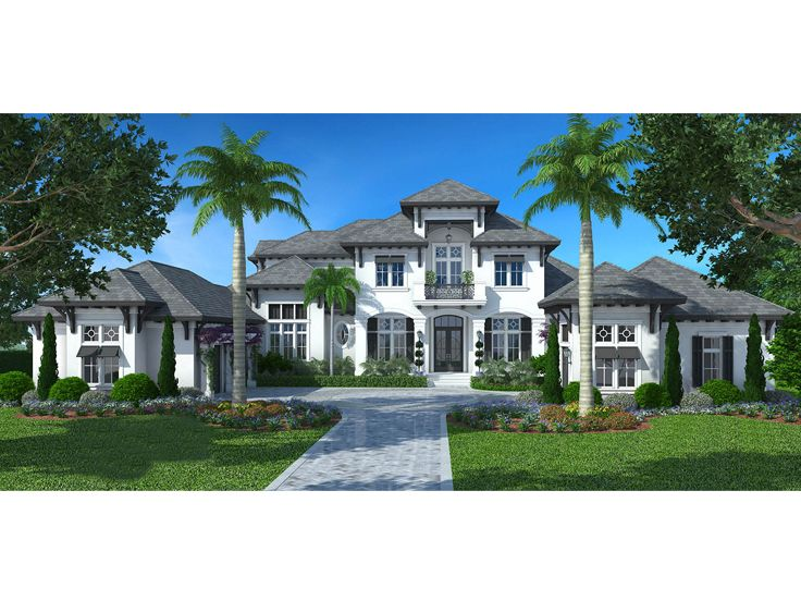 West Indies House Plan, 037H-0242