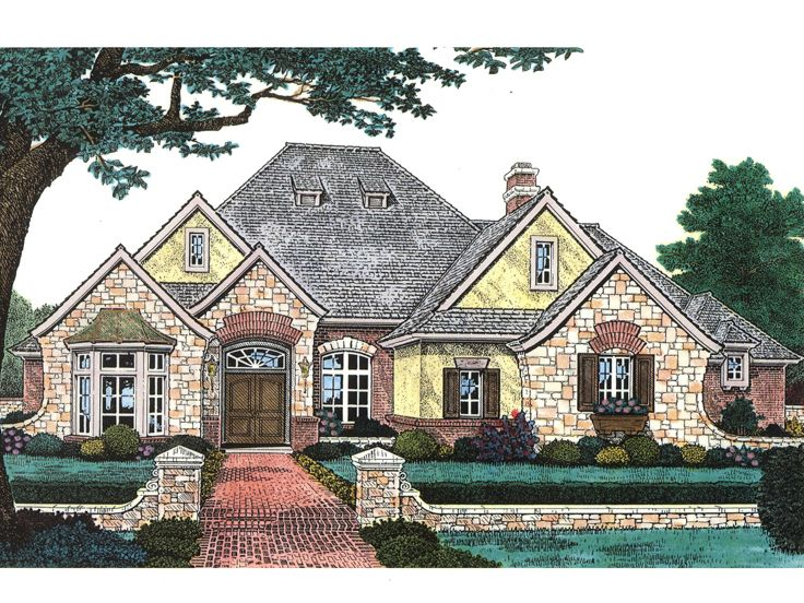 European Home Plan, 002H-0075