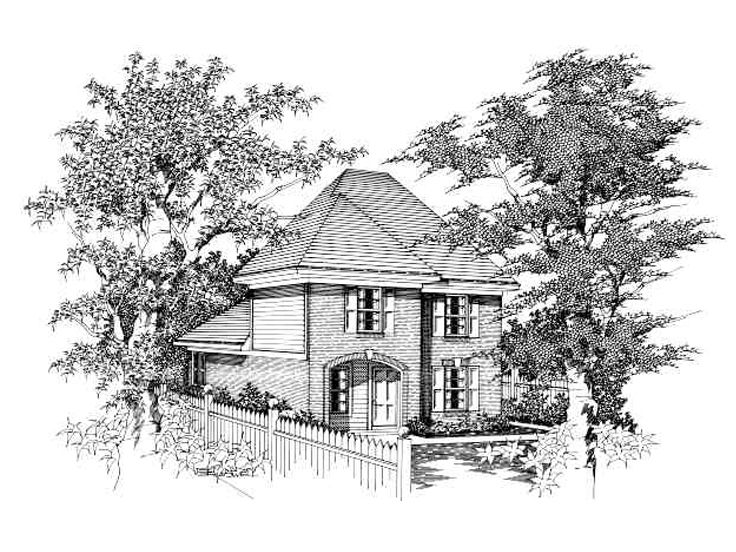 Small House Design, 061H-0023