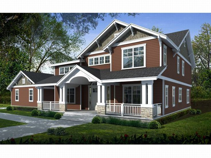 Craftsman Home, 026H-0119