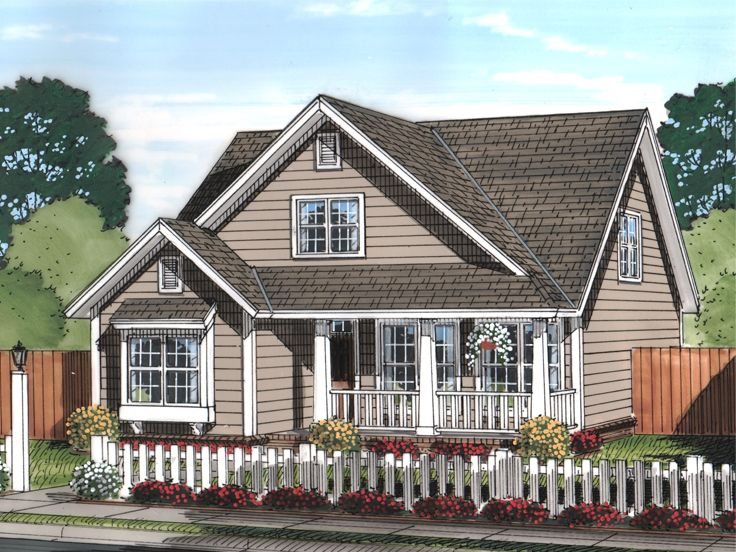 Narrow Lot Home Design, 059H-0192