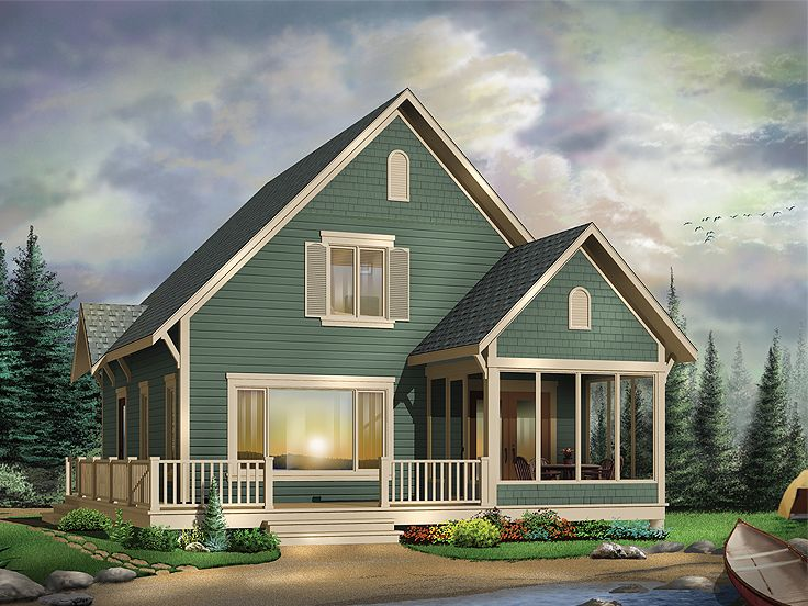 Small Home Plan, 027H-0201