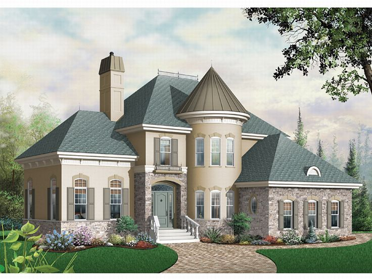 Tudor Style House Plans With Turrets House Design Ideas