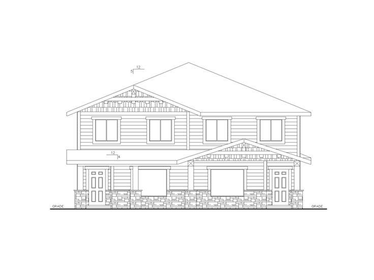 Multi-Family Home Plan, 012M-0009