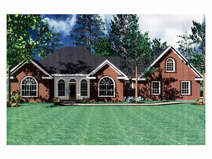 Traditional House Plan, 001H-0041