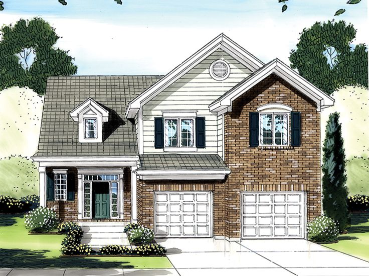 Traditional House Plan, 046H-0042