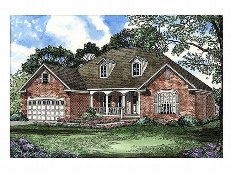 European House Plan, 025H-0113