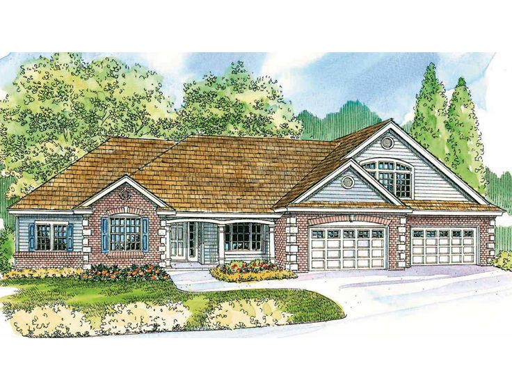 Traditional Home Plan, 051H-0120