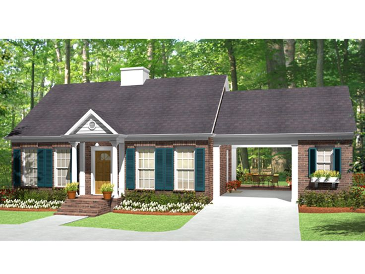 Vacation House Plan, 042H-0015