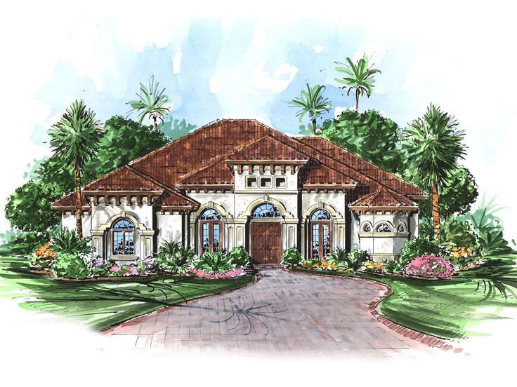 Florida House Plan, 037H-0011