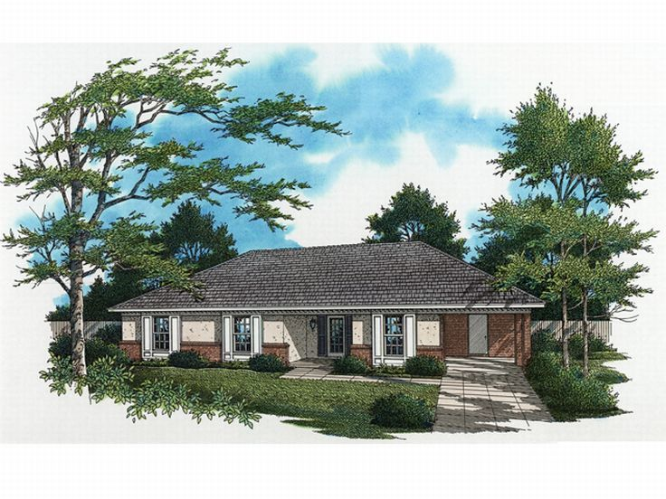 Small House Plan, 021H-0025