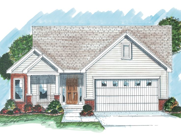 Traditional Home Plan, 050H-0027