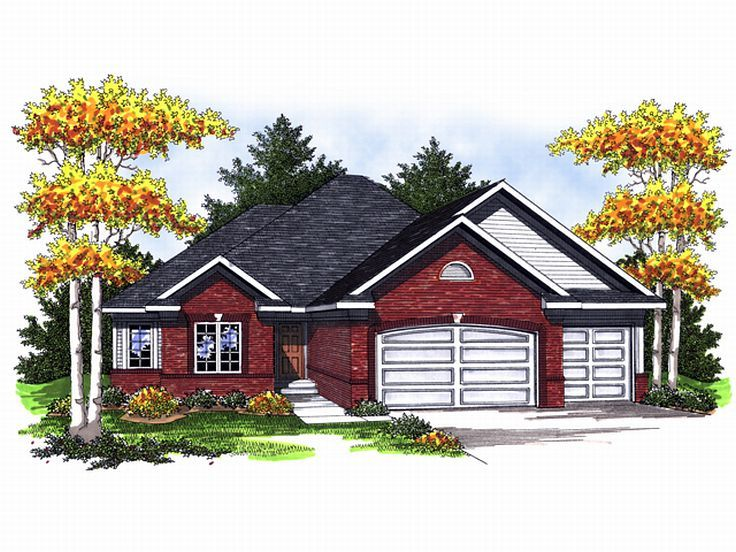 1-Story House Plan, 020H-0131