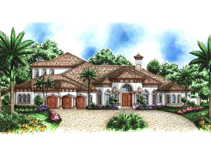 Premier Luxury Home Plan, 037H-0058