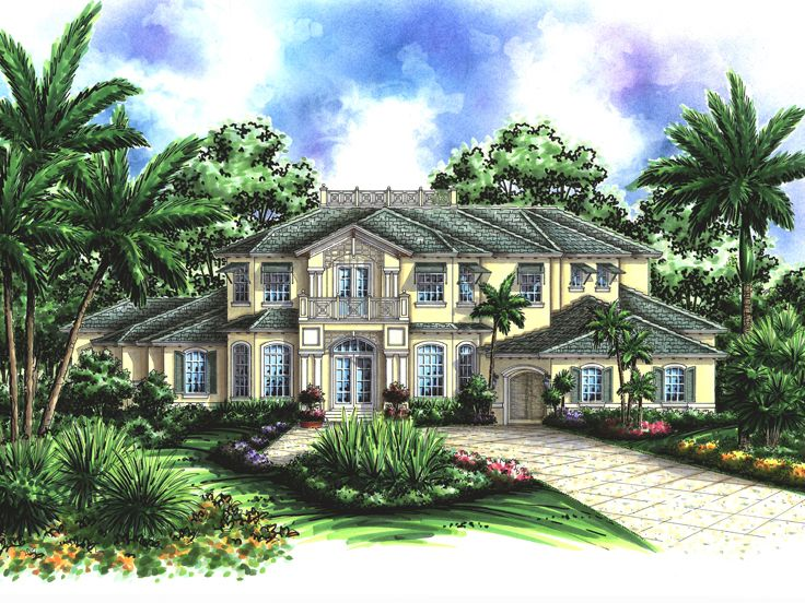 Two-Story House Design, 040H-0037