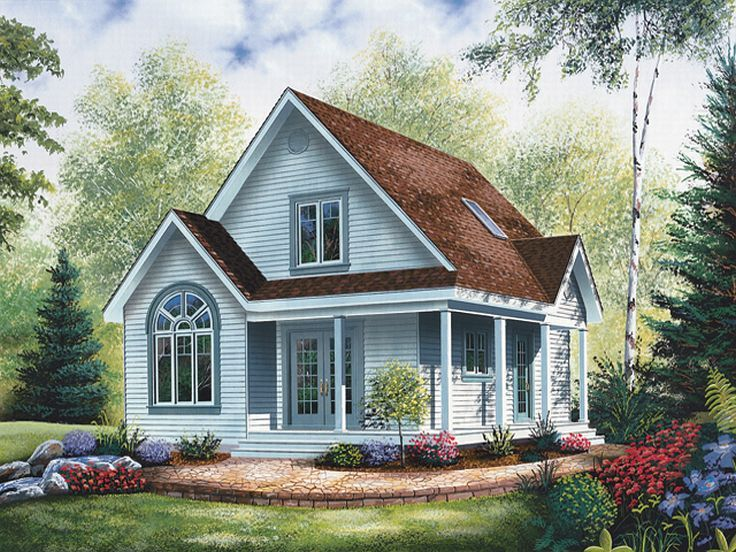 Love Shack House Plan, 027H-0127