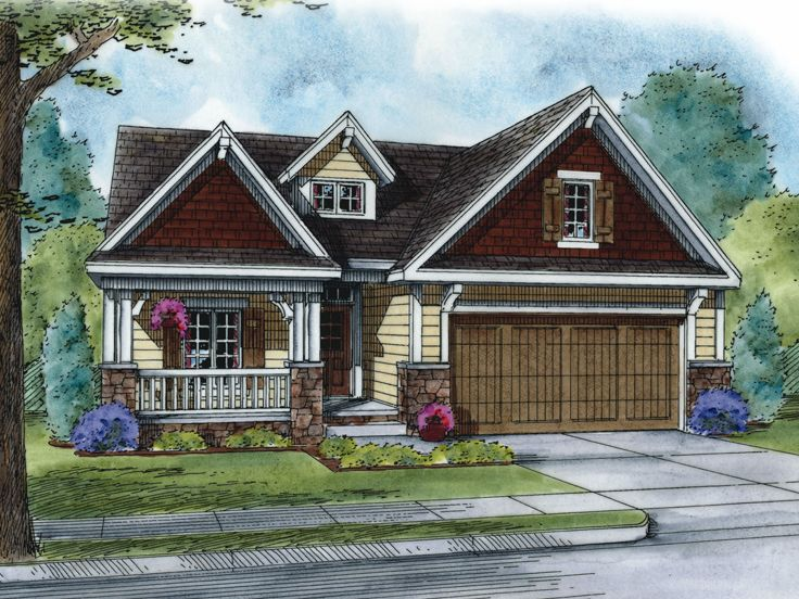 Two-Story House Plan, 031H-0314