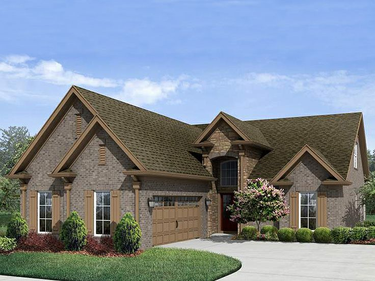 European Home Plan, 061H-0078