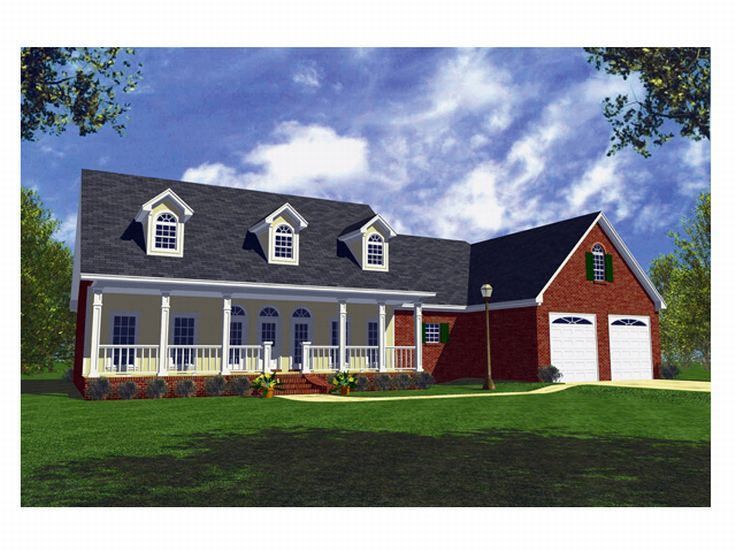Country Home Plan, 001H-0060