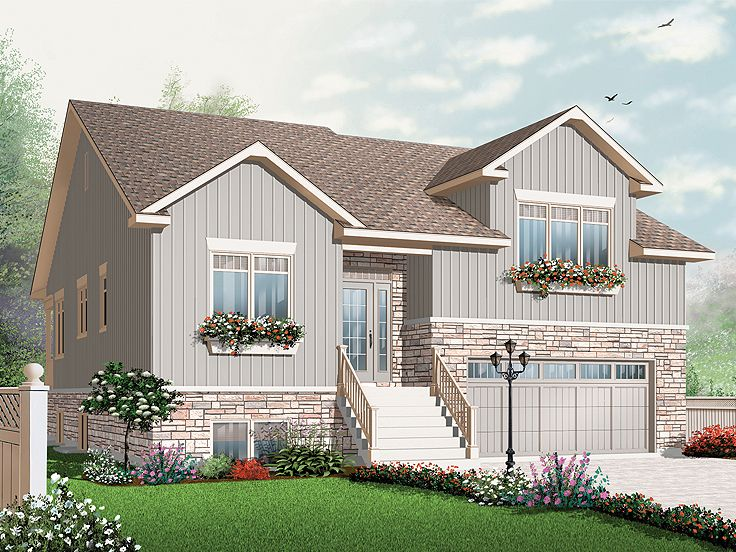 Two-Story Home Design, 027H-0268