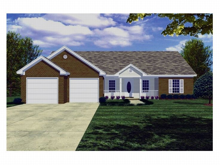 Small Home Plan, 001H-0018
