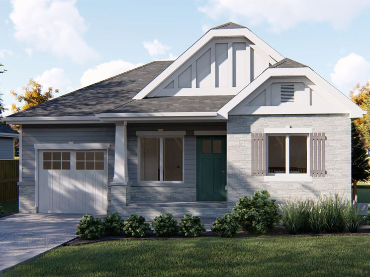 Small House Plan, 050H-0171
