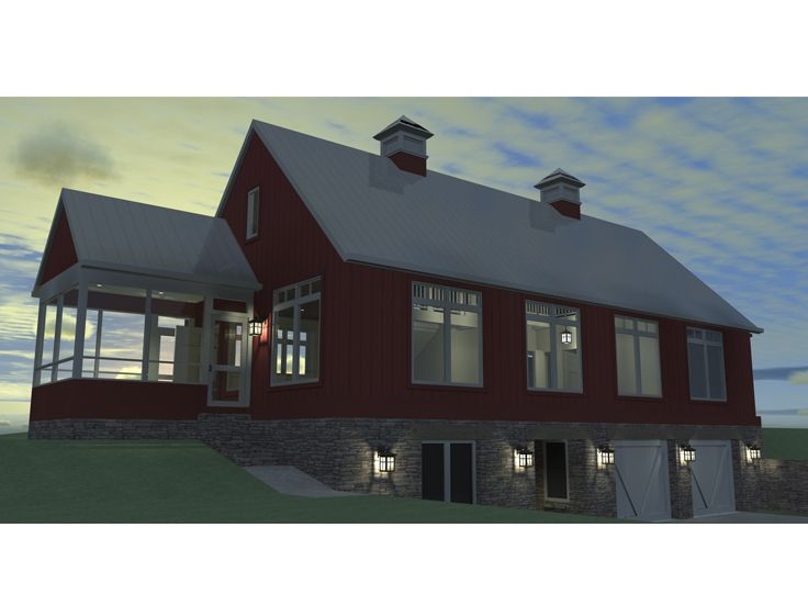 Country Home Design, 052H-0087