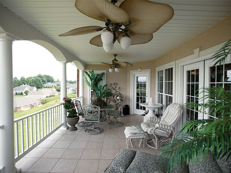 Covered Porch Photo, 036H-0058