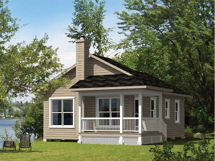 Country Cottage House Plan, 072H-0189