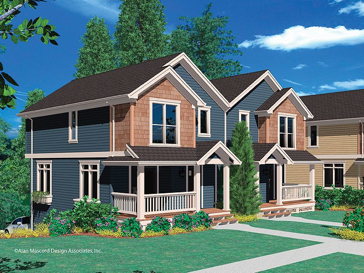 Plan 034m 0014 find unique house plans home plans and Unique duplex plans