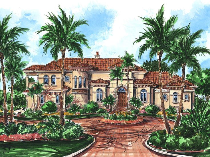 Premier Luxury Home Plan, 037H-0047