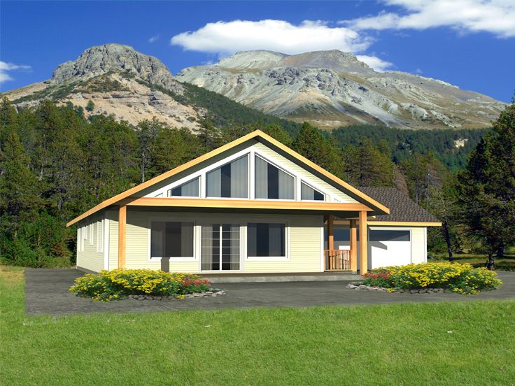 Vacation House Plan, 012H-0162