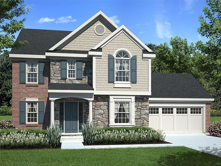 Two-Story Home Plan, 046H-0056