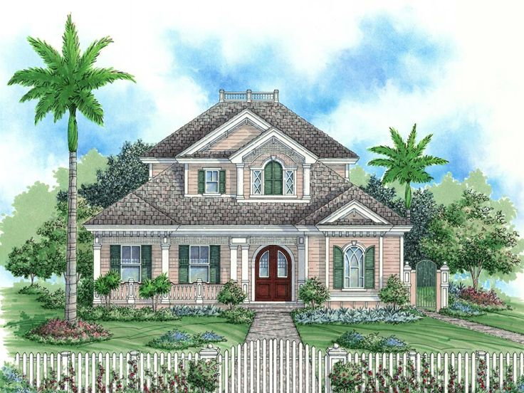 Country Home Plan, 037H-0110