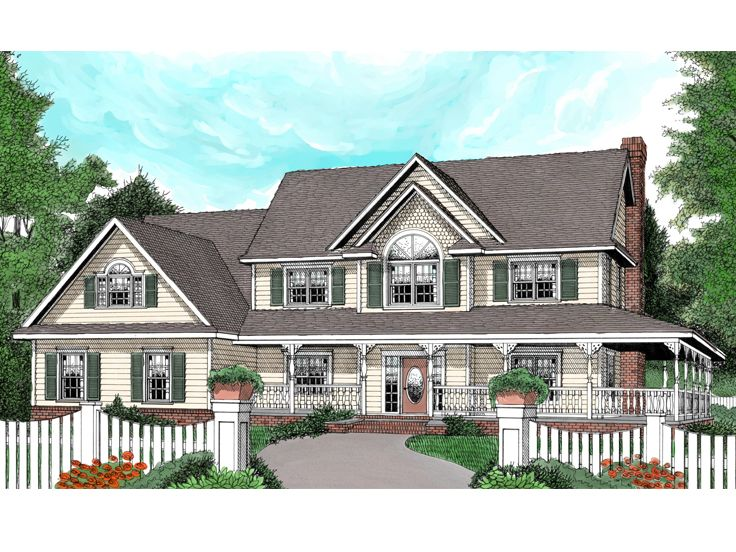 Victorian House Plan, 044H-0039