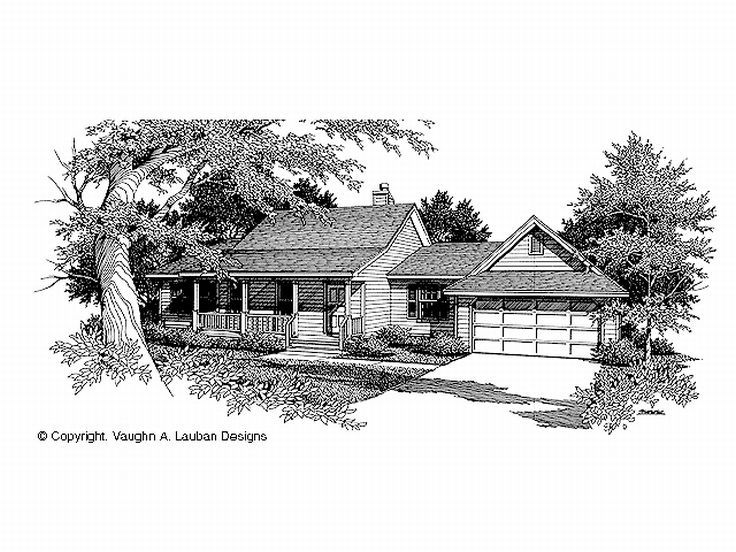 One-Story Home Plan, 004H-0019
