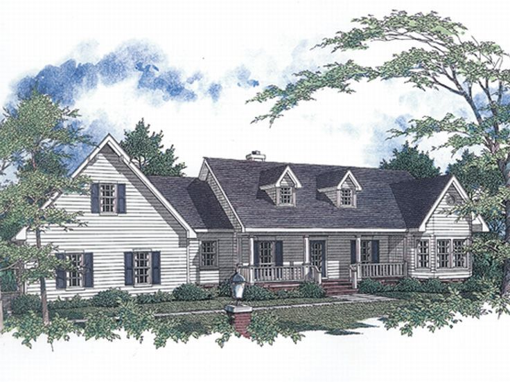 Country House Design, 004H-0060