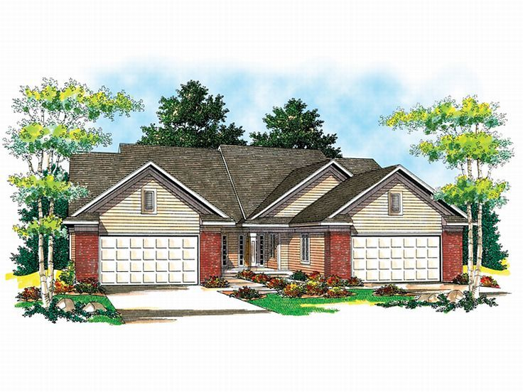 Multi-Family House Plan, 020M-0011