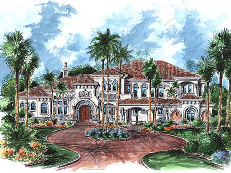 Florida House Plan, 037H-0167