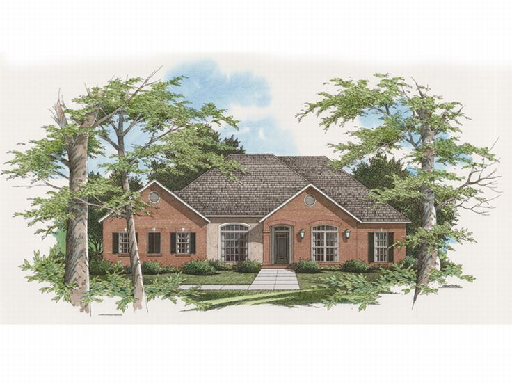Ranch House Plan, 030H-0032